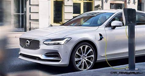 volvo  reveals slinky  limo shape hp  phev drivetrain
