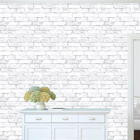 white brick removable wallpaper contemporary wallpaper white bricks wallpaper decal self adhesive brick