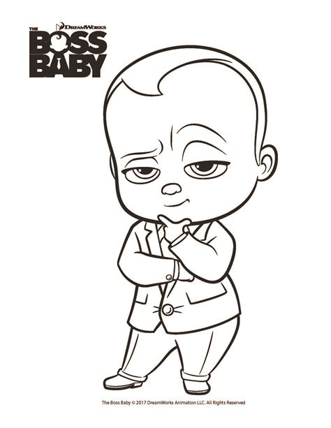 printable coloring pages baby free coloring printables for the boss baby from dreamworks