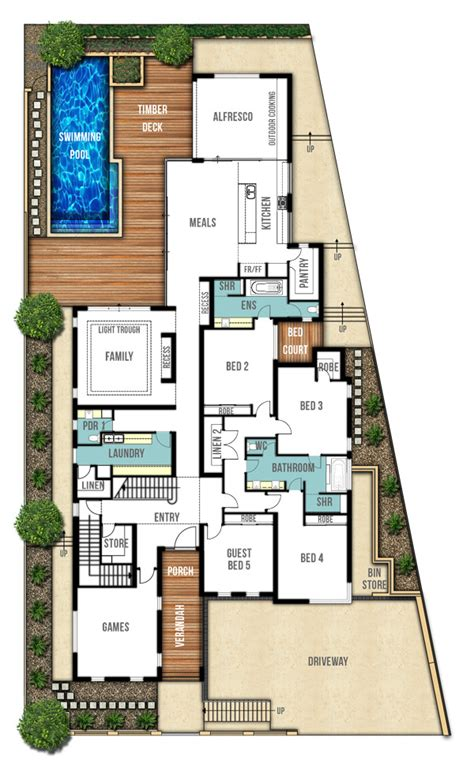 home design for ground floor undercroft garage home plans quot the sorrento quot boyd design
