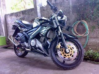 vixion black modification bike motorcycle modification september 2009