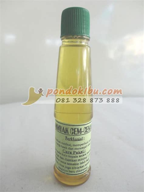 Minyak Kemiri Waru Satu minyak cem ceman jadikan rambut sehat indah dan terhindar