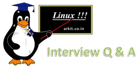 linux tutorial questions linux interview questions and answers arkit