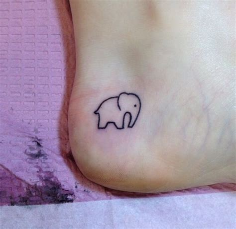 small cute simple tattoos 85 tiny elephant designs