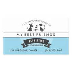 pet sitting business cards pet sitting business cards templates zazzle