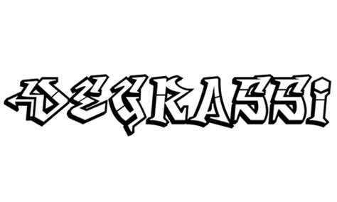 font graffiti   tipografi desain model huruf