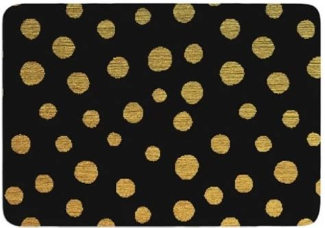 15 stunningly affordable black and gold bathroom rugs to buy