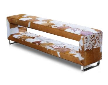 esszimmer bench seating mit rückenlehne bauhaus kuhfell bank mit stauraum echtes kuhfell schmale