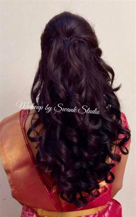 Wedding Reception Hairstyles For Indian by Best 783 Indian Bridal Hairstyles Images On