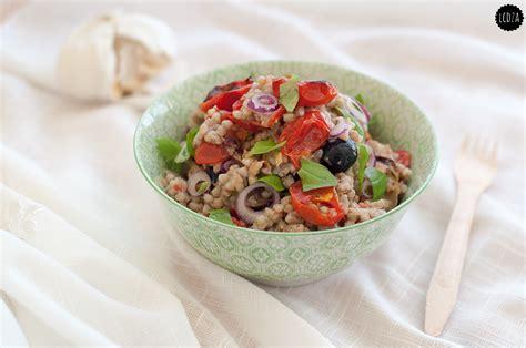 come si cucina il grano insalata di grano saraceno con pomodori confit sgombro e