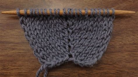 how to increase 1 stitch in knitting how to knit the make two increase m2 new stitch