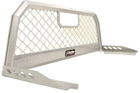 aluminum headache rack with lights deezee custom headache rack mesh screen aluminum