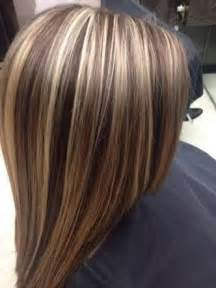 layred hairstyles eith high low lifhts short brown hair with blonde foils google search hair