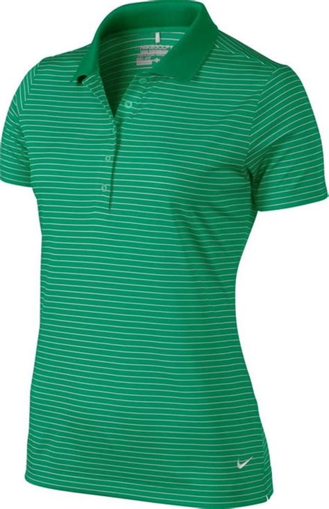 nike womens tech stripe golf polo shirts