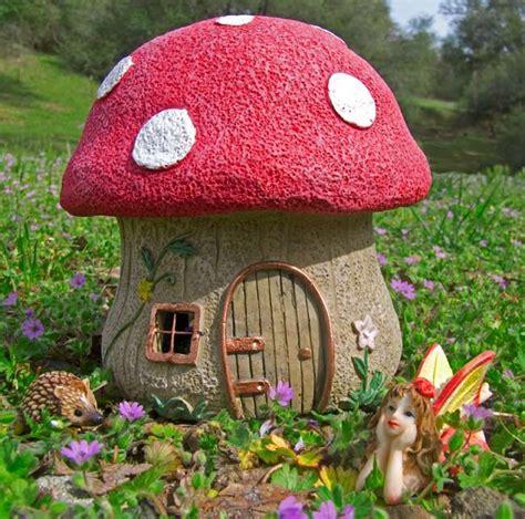 mushroom fairy house mushroom house for your fairy garden enchanted garden pinterest