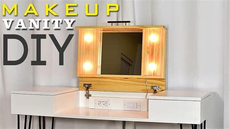 diy vanity table plans diy makeup vanity table 100 images 31 original
