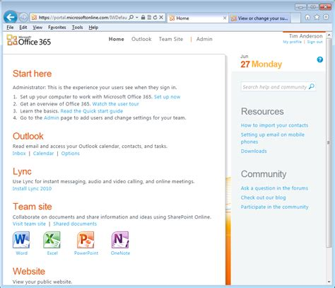 Office 365 Portal Uk Microsoft Gets With The Times Builds Two Factor