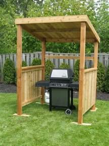 build your own backyard grill gazebo