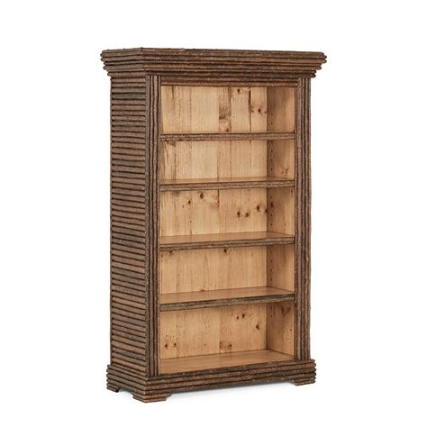 rustic bookshelves rustic bookcase la lune collection