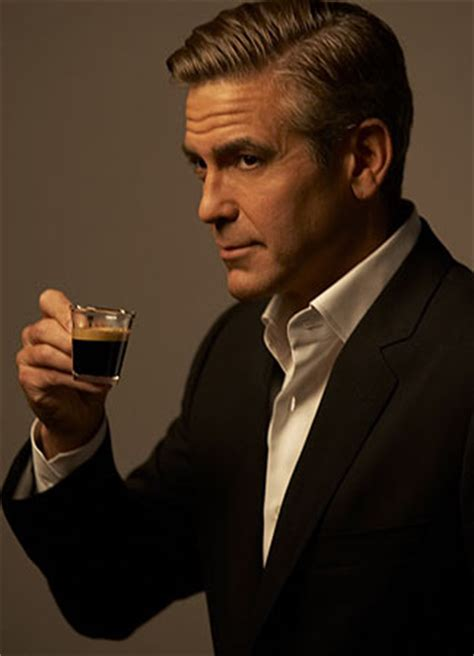 nespresso commercial actress blonde george clooney wants to drink nespresso with non black