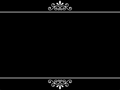 black powerpoint template simple powerpoint background black and white