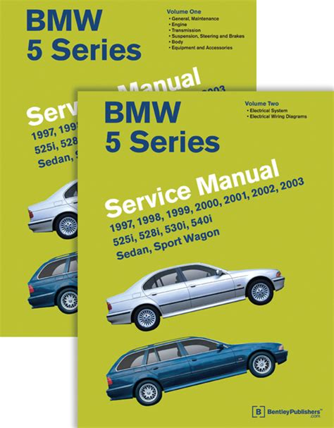 car repair manuals download 2001 bmw 5 series instrument cluster front cover bmw repair manual bmw 5 series e39 1997 2003 bentley publishers repair