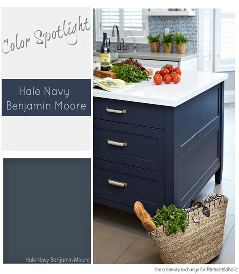 remodelaholic color spotlight benjamin hale navy