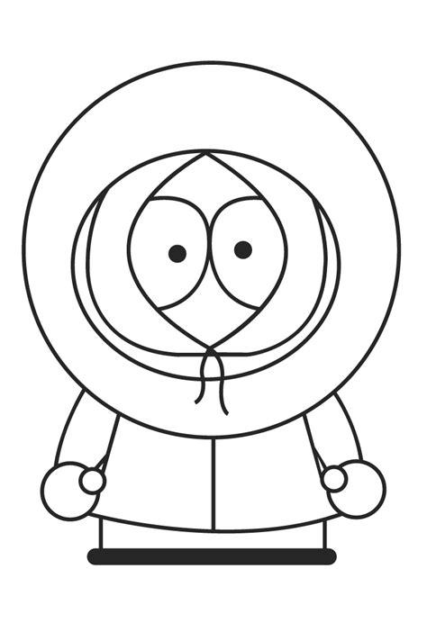Butters De South Park Coloring Pages South Park Coloring Page