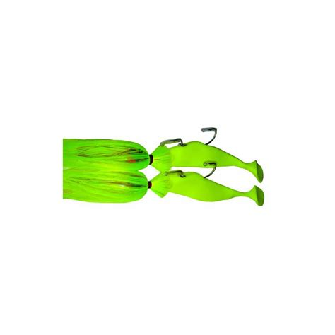 blue water candy 60236 tandem loaded chartreuse on purple
