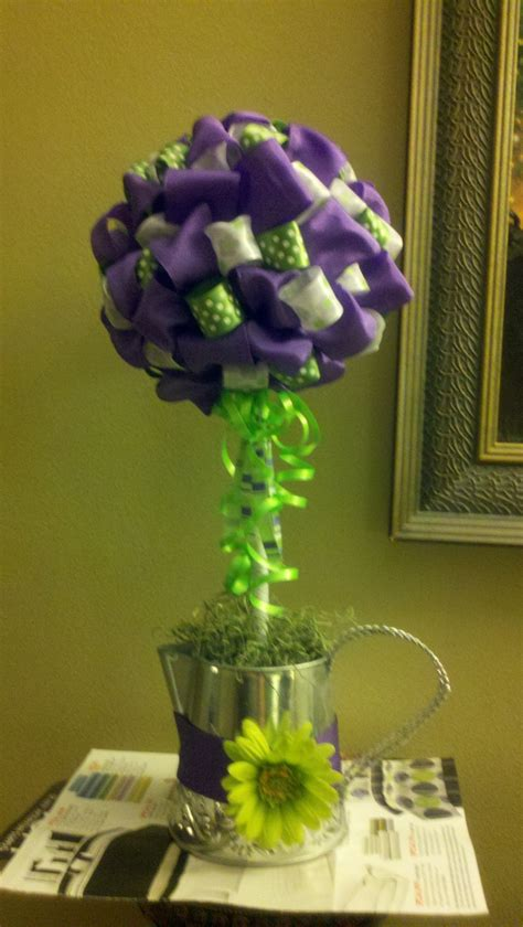 topiary centerpieces 17 best images about ribbon topiary on the