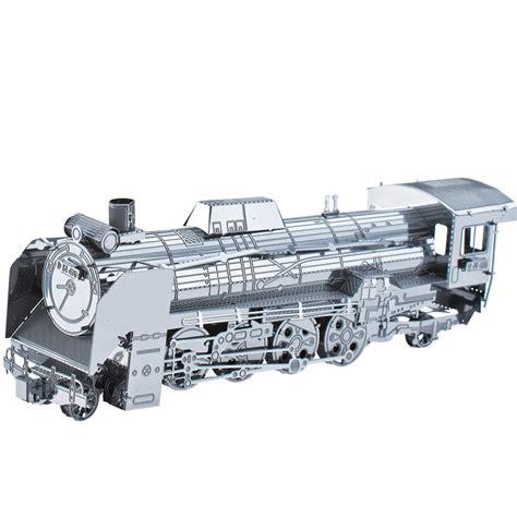 Puzzle 3d Metal Japanese Locomotive D 51 Miniatur Lokomotif Klasik scale model locomotives reviews shopping scale