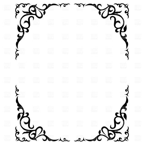 pin printable stationary border paper free floral cake on