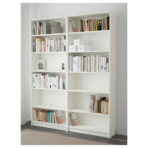 billy bookcase billy bookcase white 160x202x28 cm ikea