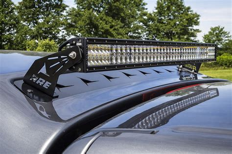 Led Light Bar For Trucks A R E Truck Caps Partners With Rigid Led Lights To Shine Bright Road Xtreme