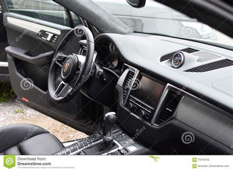 porsche cars interior porsche sports car interior editorial image