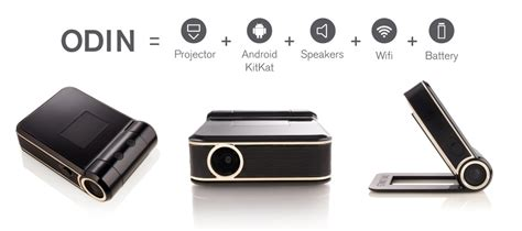 Proyektor Odin the odin android powered smart projector techfaster