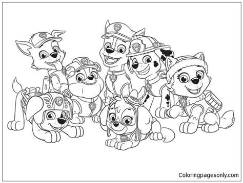 paw patrol characters coloring pages paw patrol characters coloring page free coloring pages