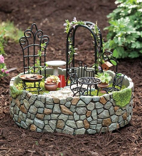 Garden Accessories How To Create A Miniature Garden Home Design Garden