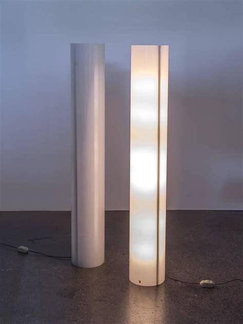 Pair  Column Floor Lamps  Paul Mayen  Stdibs