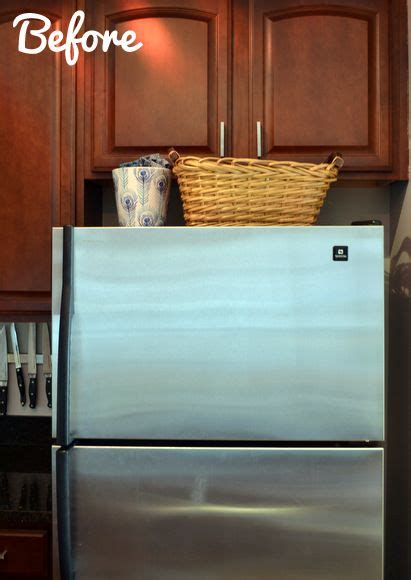 1000 ideas about fridge decor on small