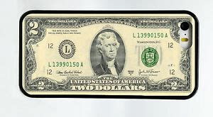 new 2 two dollar bill currency money phone for iphone 7 6s 6 plus 5c 5s 5 4 ebay