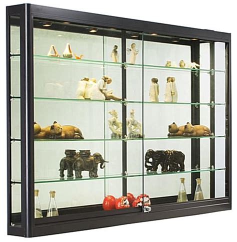 Kitchen Collectables Store 5 ft wide wall cabinet black