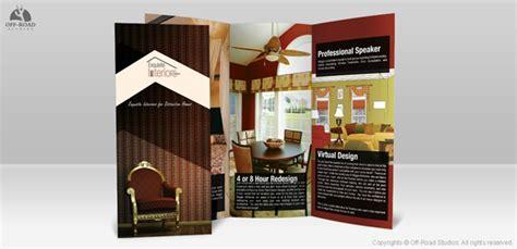 contoh brosur desain interior 15 contoh brosur penggugah inspirasi