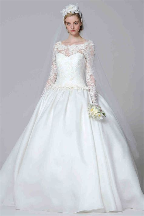 long sleeve wedding dresses spring 2013 bridal fashion