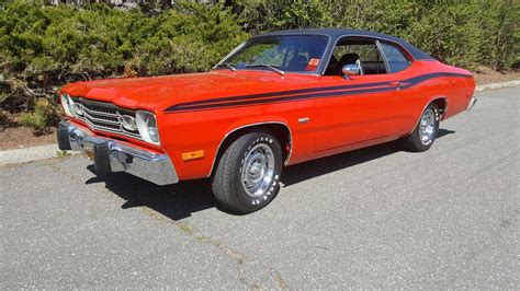plymouth duster 360 1974 plymouth duster 360 for sale 1834363 hemmings