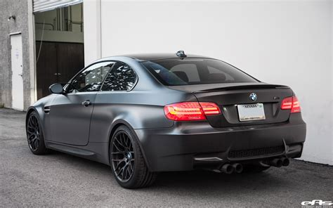 Matte Black Bmw E92 M3 Supercharged Project By European