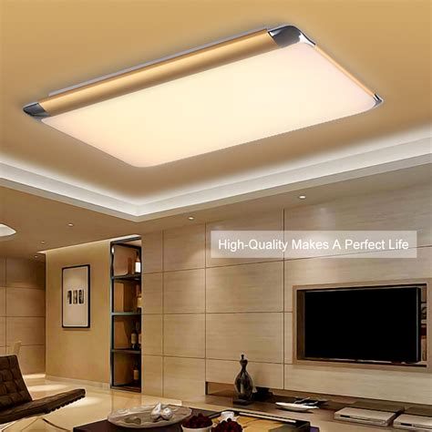living room light fitting 36w 35 quot led ceiling light dual color dimming fitting panel l living room ebay