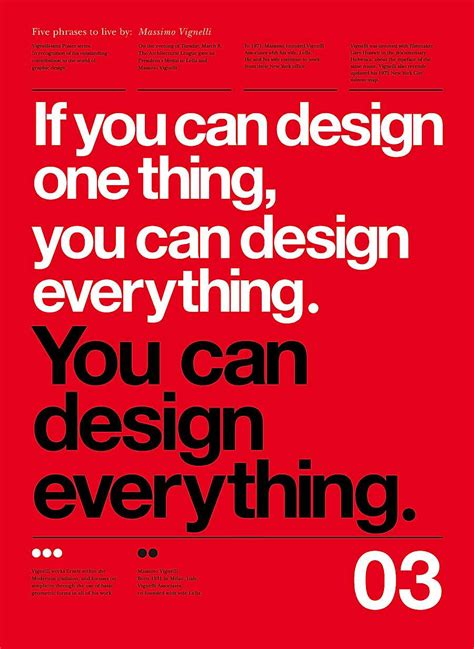 typography lessons 5 lessons from massimo vignelli