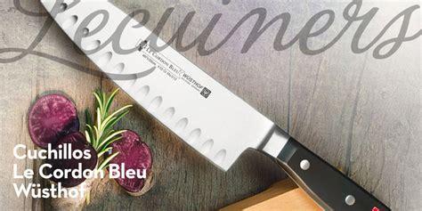 escuela de cocina cordon bleu los cuchillos de la escuela de cocina cordon bleu de w 252 sthof