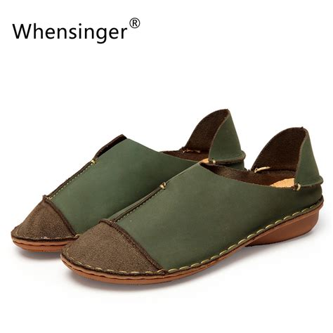 Whensinger 2017 Leather Shoes Handmade - whensinger 2017 shoes genuine leather loafers